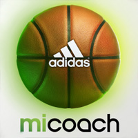 Adidas miCoach Basketball game for iPhone and iPad presented by Eric Gordon and featuring SPEED_CELL connectivity