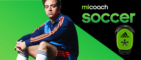 Adidas miCoach Soccer featuring SPEED_CELL connectivity for iPhone and iPad