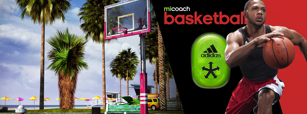 Adidas miCoach basket presented by Eric Gordon and featuring SPEED_CELL connectivity