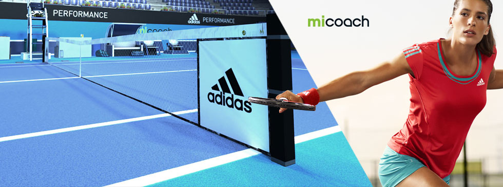 Adidas miCoach Tennis presented by Andrea Petkovic and featuring SPEED_CELL connectivity