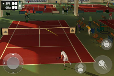 Adidas miCoach Tennis game for iPhone and iPad presented by Andrea Petkovic and featuring SPEED_CELL connectivity
