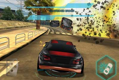 Split/Second racing game for iOs by Digital Legends