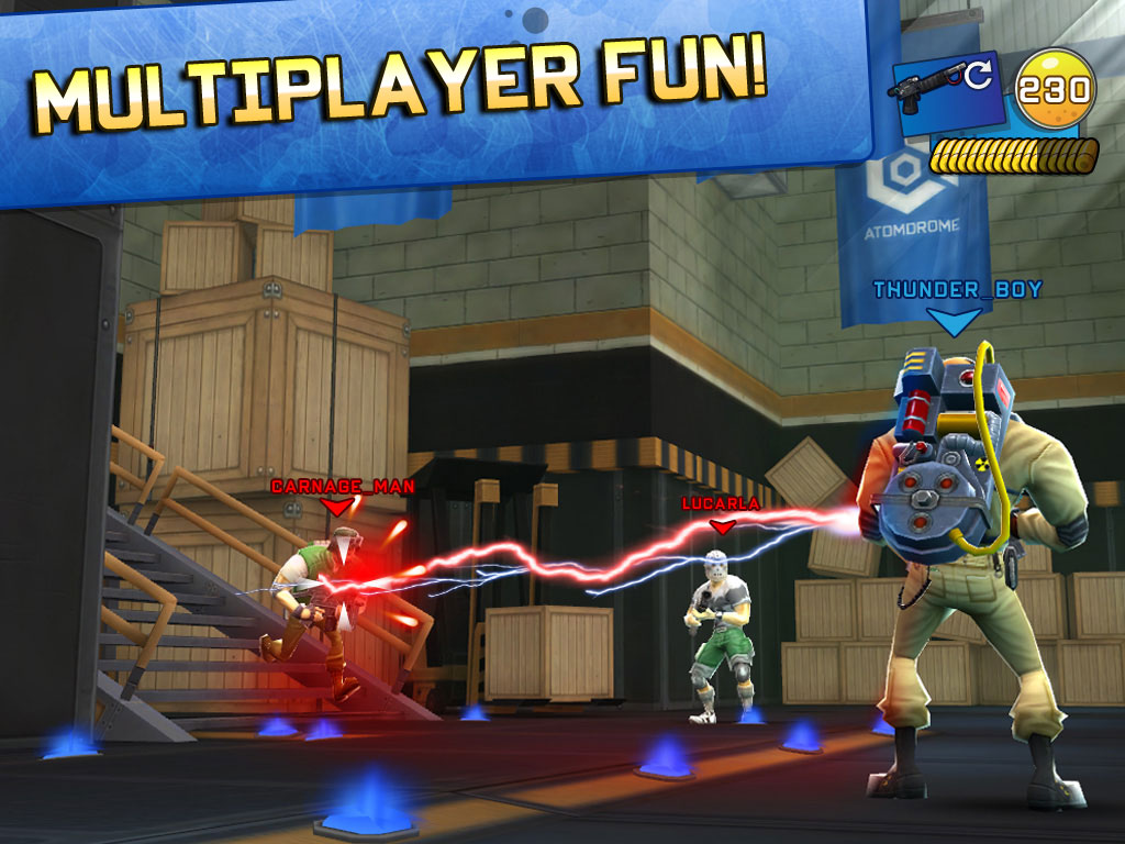 Respawnables, the trigger happy cartoon shooter for iOS - Digital